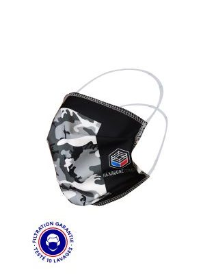 MASQUE GRAND PUBLIC CATEGORIE 1 – HEXAGONE COMBAT CAMO NOIR