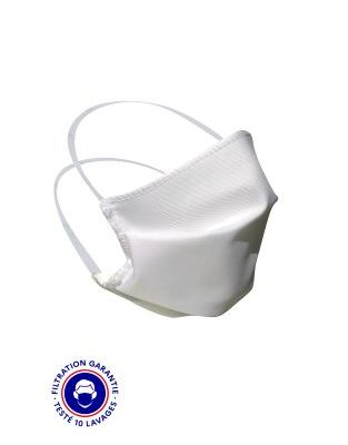 LOT DE 100 MASQUES GRAND PUBLIC CATEGORIE 1 BLANC